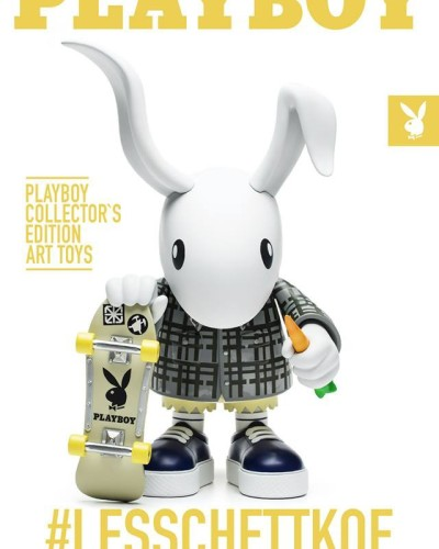 Play Boy 60th anniversary edition art toy