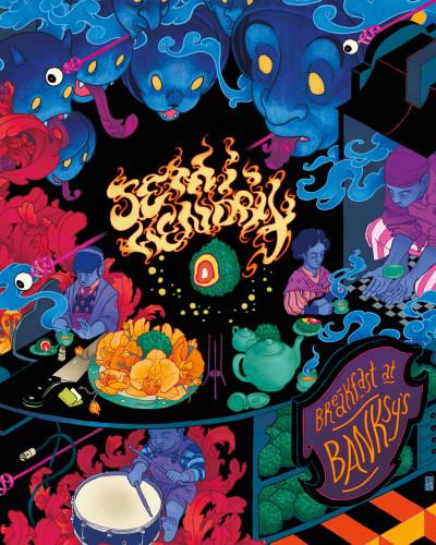 Semi Hendrix- Breakfast at Banksky