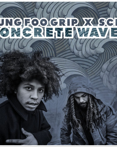 kung foo grip X scly- Concrete Waves