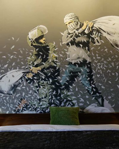 "Bethlehem ""Walled Off Hotel"" Banksy"